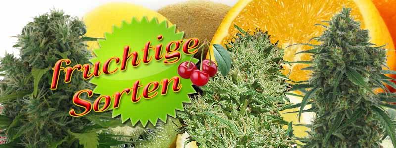 fruchtige Sorten, fruchtige Strains, fruchtige Cannabis-Sorten