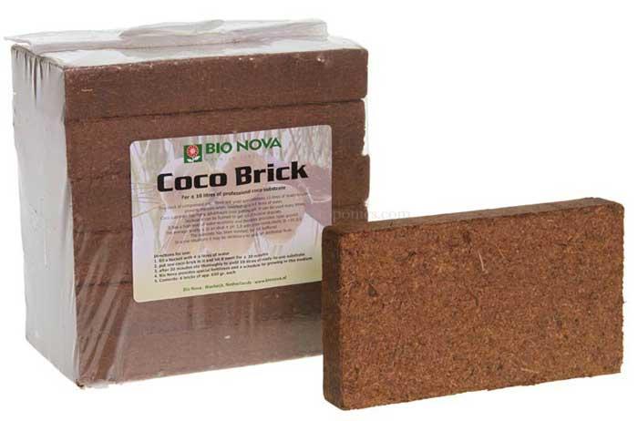 Bio-Nova-Coco-Brick, cocos-Erde kaufen bei 1000Seeds