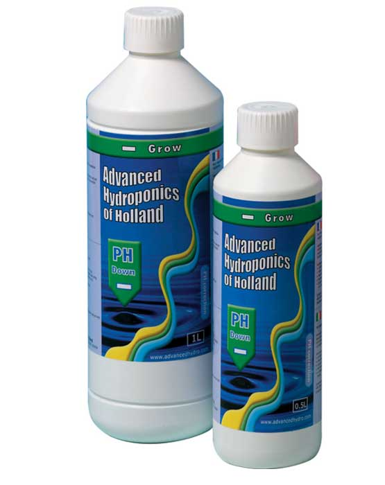 ph-Minus-BGrow, Advanced Hydroponics ph-down