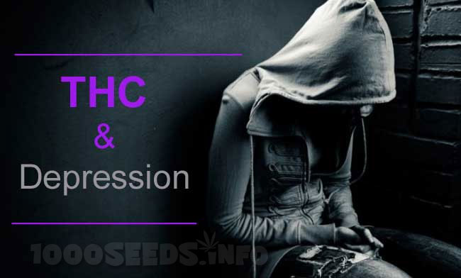THC-und-Depression, Depression und Cannabis, medical Marijuana