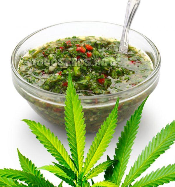 Chimchurri mit Cannabis, Marijuana-Rezepte, kochen mit Weed