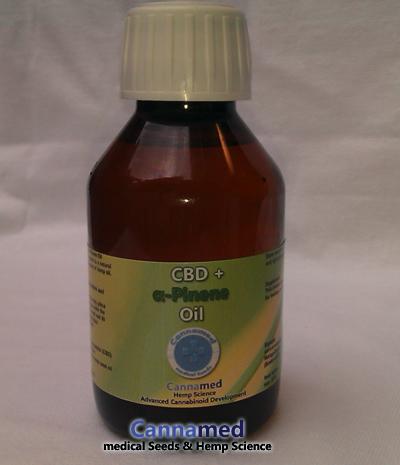 CBD-Öl mit  Pinen