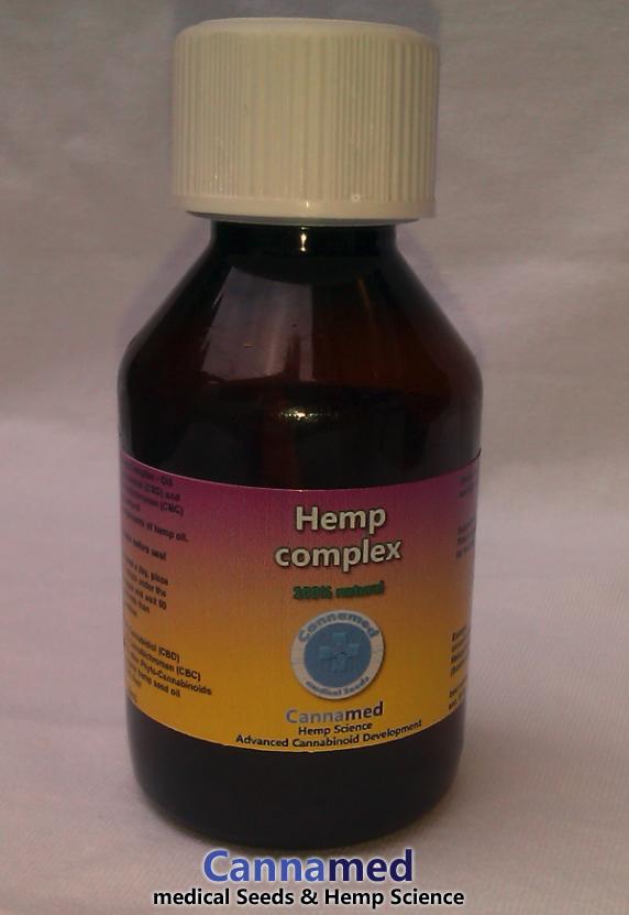 Hemp Complex, Cannabis-Öl mit CBD