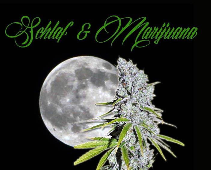 Schlaf-und-marijuana, medizinisches Cannabis