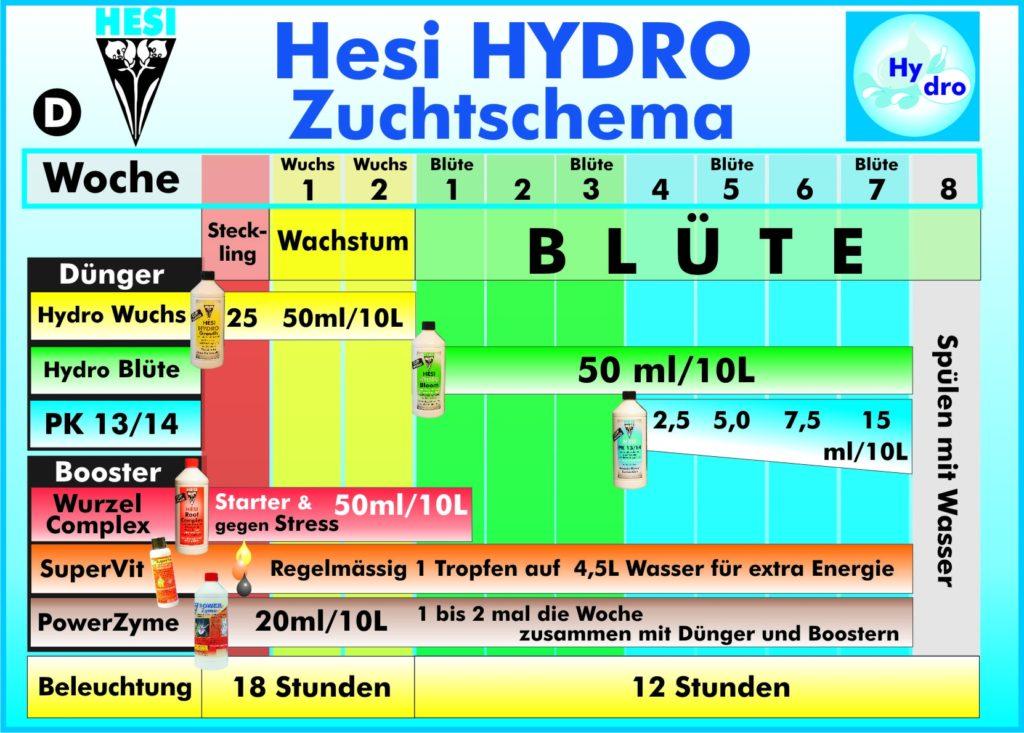 Hesi-Hydro-Dungeschema