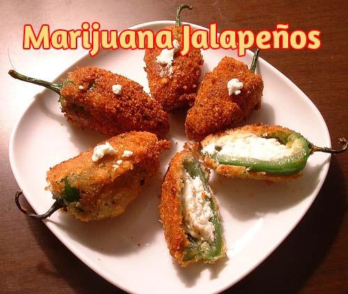 marijuana-Jalapenos, kochen mit Cannabis, Cannabis-Rezepte