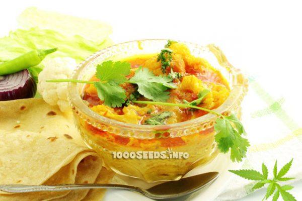 Kochen mit Cannabis, indische Cannabis Rezepte