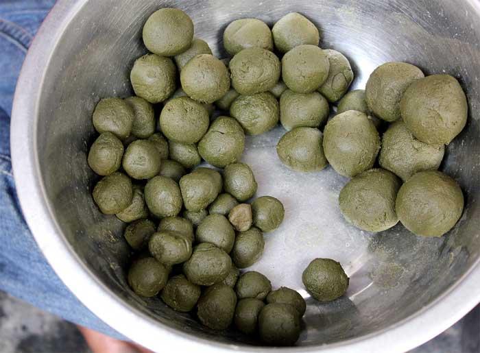 Cannabis-Indien-Holi Fest, Marijuana indische Rezepte