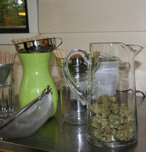 QWET, Extrakte Marijuana Ethanol