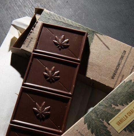 Schokolade und Cannabis