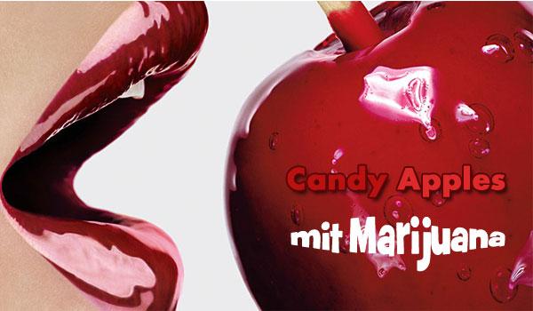 Candy-Appples mit Marijuana, Rezepte mit Cannabis