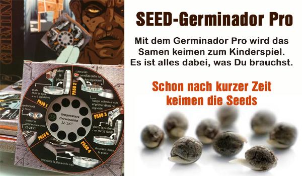 Germinador Pro zum keimen von Seeds