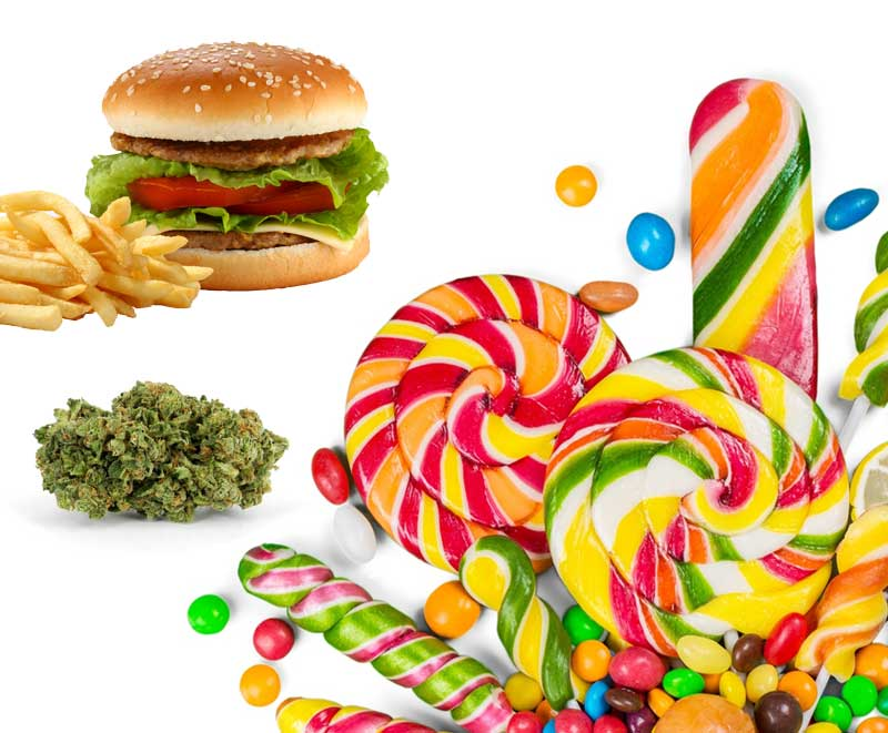Fressflash auf Cannabis, hunger Marijuana, appetitanregend