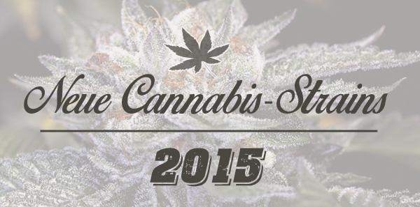 neue Cannabis-Sorten 2015
