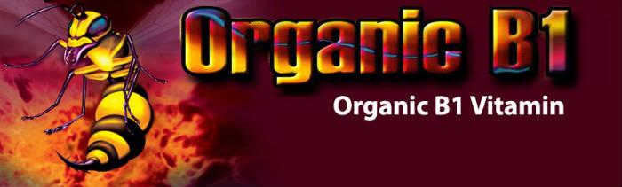 Organic B1 2