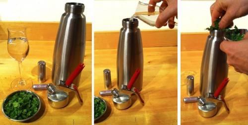 Cannabistinktur selber herstellen mit Stickstoff, infundierte Cocktails