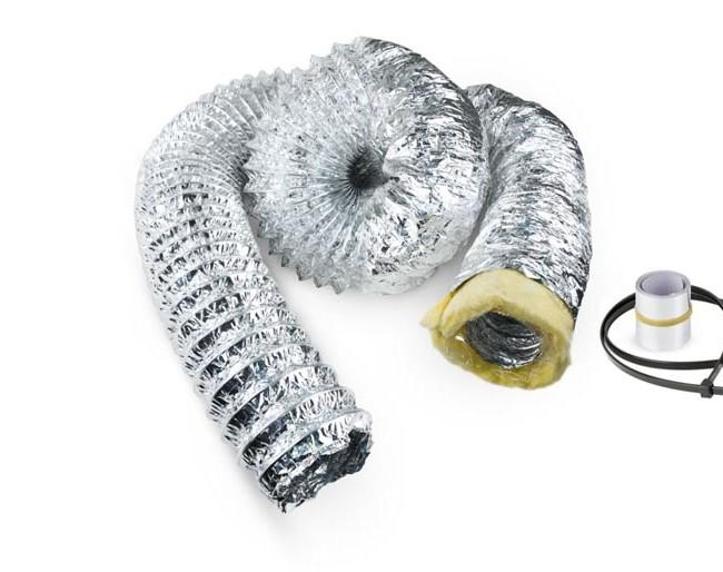 Sonodec Iso-Flexrohr, 127 mm, 3 m, schallgedämmt
