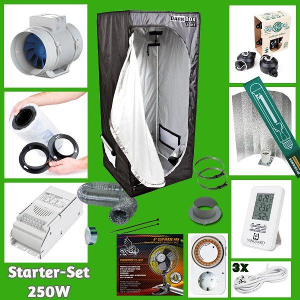 """Komplett-Set """"Starter"""", 80x80x160cm, 250W"""