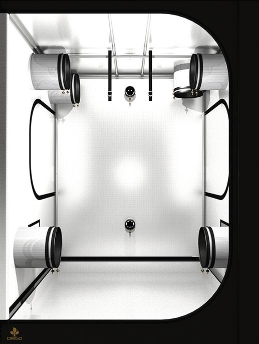 Dark Room DR120 II von Secret Jardin, 120x120x200cm