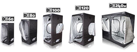 Dark Box DB 60, 60x60x140cm