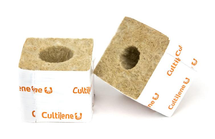 Steinwoll Kulturblock, 7,5 x 7,5 x 6,5 cm, 10 Stück