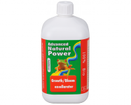 Advanced Hydroponics Natural Power Growth/Bloom Excellarator, 1 L