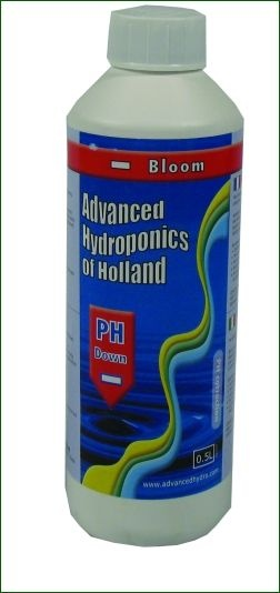 Advanced Hydroponics pH-Down Bloom, 1 L