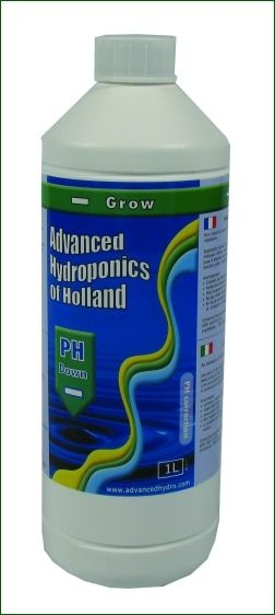 Advanced Hydroponics pH-Down Grow, 500ml
