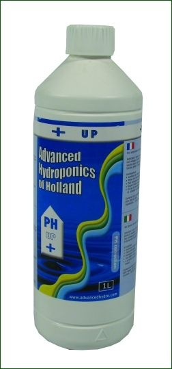 Advanced Hydroponics pH Up, 1L