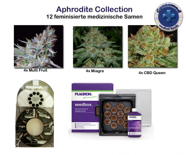 medical Collection - Aphrodite (Cannamed), 12 feminisierte Samen