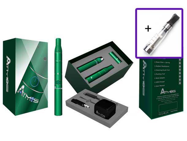 Atmos Raw 2, Vaporizer-Kit für BHO, Öle, Harze