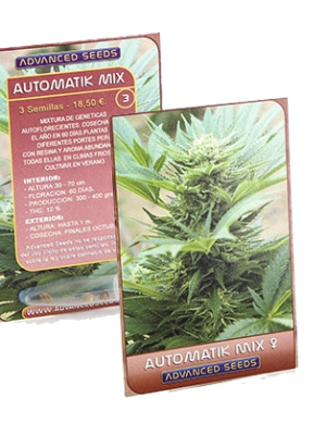 Automatik Mix (Advanced Seeds), 3 autoflowering Samen
