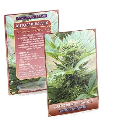 Automatik Mix (Advanced Seeds), 3 autoflowering Samen