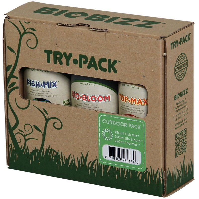 BioBizz Try-Pack Outdoor