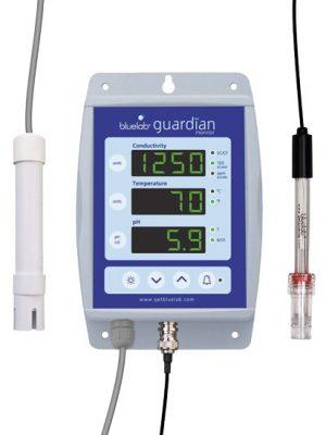 Bluelab Guardian Monitor, dauerhafte pH-, EC-Wert und Temperaturüberwachung