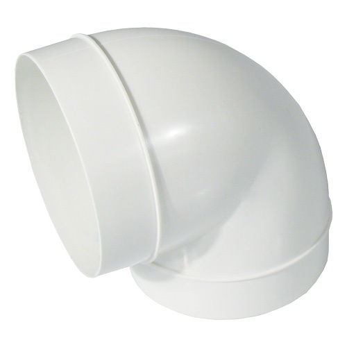 Bogenstück 90°, Kunststoff, für ø 125 mm