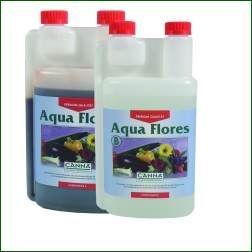 CANNA Aqua Flores A und B, je 1 L