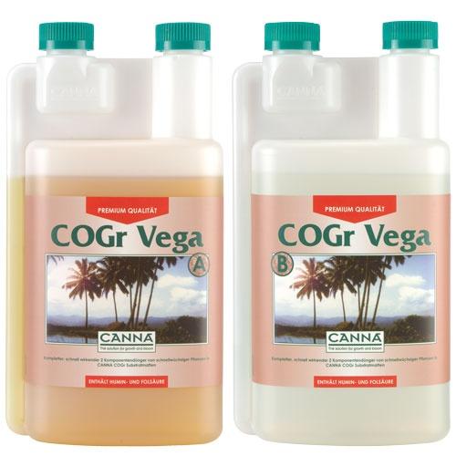 CANNA Cogr Vega, A und B, je 1 L (Wuchsphase)