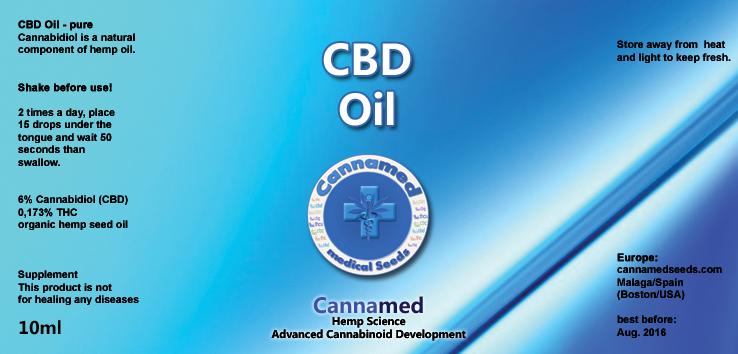 CBD-Oil, 10ml oder 3 x 10ml