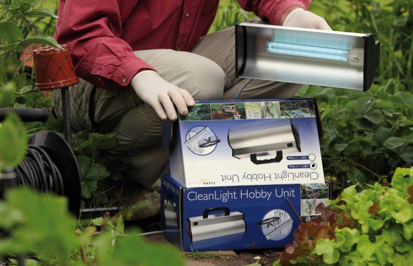 CleanLight gegen Botrytis, Pilze und Mehltau