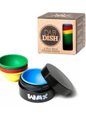 Dab Dish Silikonbehälter, 4-teilig