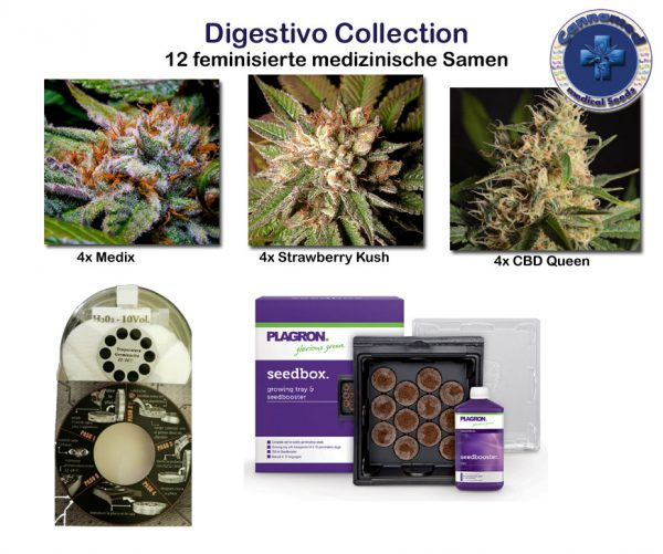 medical Collection - Digestivo (Cannamed), 12 feminisierte Samen