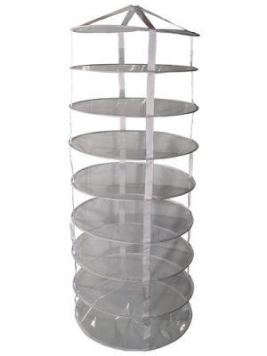 Drynet, 8 Ebenen, H = 180 cm, ø 58 cm,offen