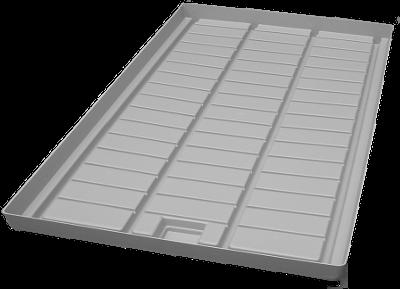 Fluttisch Einlegeboden 60 x 100 cm