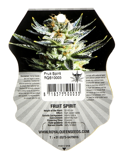 Fruit Spirit (Royal Queen Seeds), 3 feminisierte Samen
