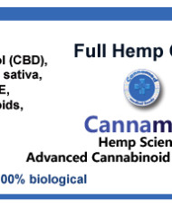 Full Hemp Oil (24% CBD), 5 oder 10ml