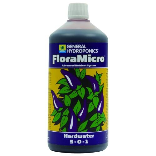 GHE FloraMicro, 1 L, Spuren- und Mikroelemente (hartes Wasser)