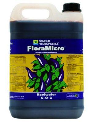 GHE FloraMicro, 5 L, Spuren- und Mikroelemente (hartes Wasser)