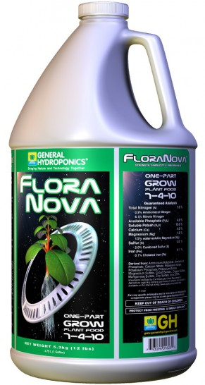 GHE FloraNova Grow, 3790 ml