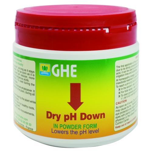 GHE pH-Down, Pulver, in 25g, 250g, 500g oder 1kg